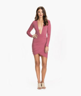 Low Front Dress